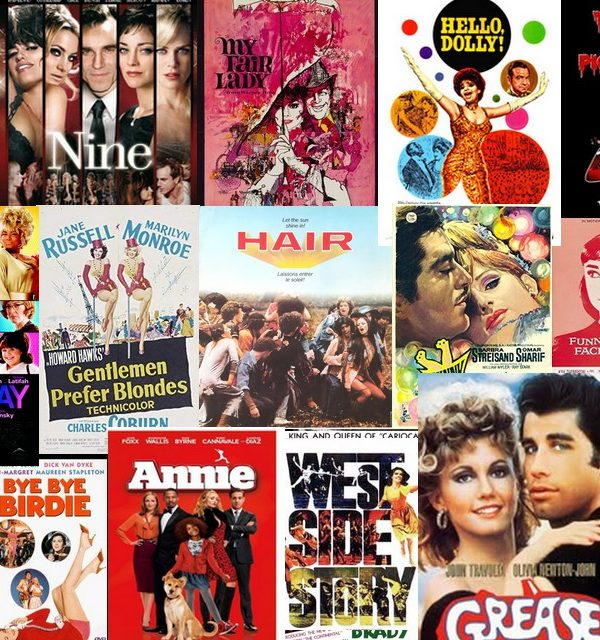 comedies musicales américaines